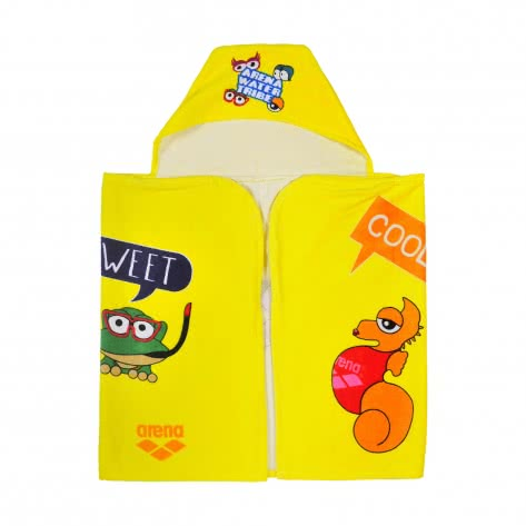 Arena Kinder Poncho AWT PONCHO 000890-300 Yellow Star-Multi | One size