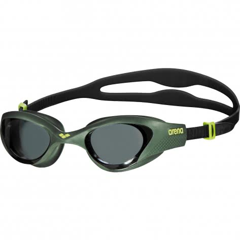 Arena Schwimmbrille The One 001430-560 One size Smoke-Deep Green-Black | One size