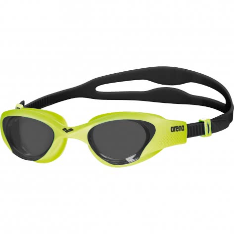 Arena Schwimmbrille The One 001430-565 SMOKE-LIME-BLACK | One size