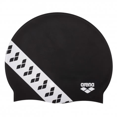 Arena Badekappe Team Stripe 001463-501 BLACK | One size