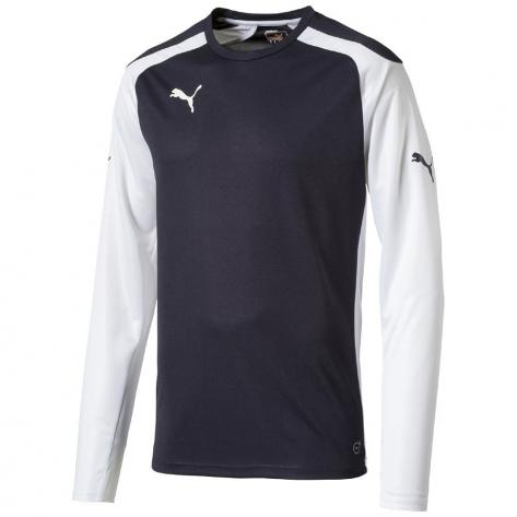 Puma Jungen Trikot Speed Longsleeved Shirt 710909 New Navy White Größe 164