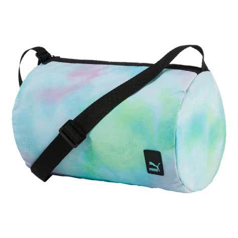 Puma Damen Umhängetasche Prime Barrel Bag F 074574-02 Aruba Blue-Color Blend Graphic | One size