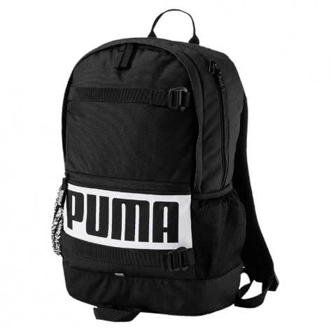 Puma Unisex Rucksack Deck Backpack 074706-01 One size Puma Black | One size