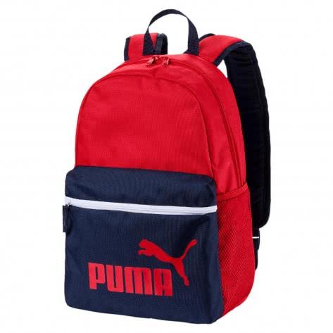 Puma Unisex Rucksack Phase Backpack 075487-04 One size Ribbon Red-Peacoat | One size