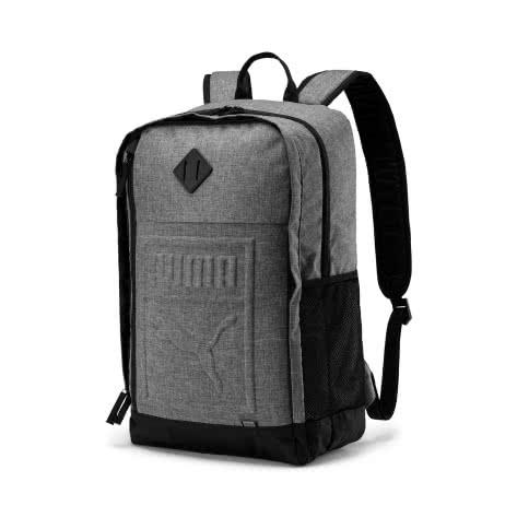 Puma Unisex Rucksack S Backpack 075581-09 One size Medium Gray Heather | One size