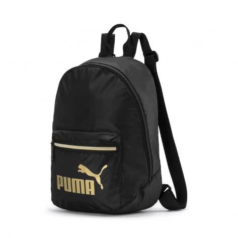 Puma Damen Rucksack Core Seasonal Archive Back 076572-01 One size Puma Black-Gold | One size