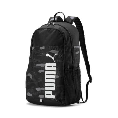 Puma Unisex Rucksack Style Backpack 076703-01 One size Puma Black-Camo AOP | One size