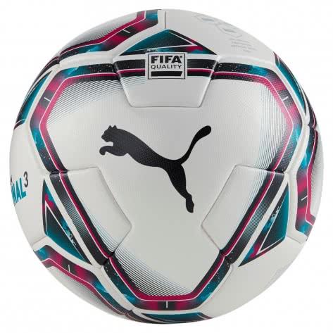 Puma Fussball teamFINAL 21.3 FIFA Quality Ball 083306-01 4 Puma White-Rose Red-Ocean Depths-Puma Black-Omphalodes   4