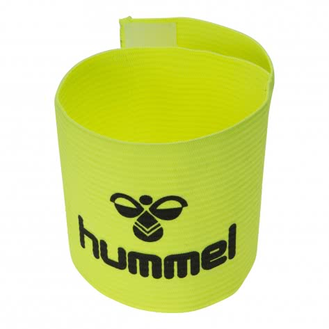 Hummel Kapitänsbinde Old School Captains Band 099164-5067 One size Flourecent Green/Black | One size