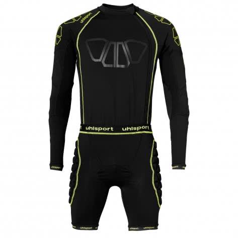 Uhlsport Herren Overall Bionikframe Bodysuit 100563501 XL Schwarz/Fluo Gelb | XL