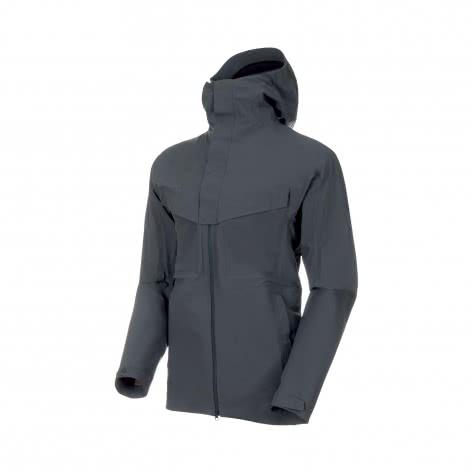Mammut Herren Outdoorjacke Zinal HS Hooded Jacket 1010-26960-0239 XXXL Storm | XXXL