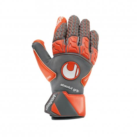 Uhlsport Herren Torwarthandschuhe Aerored Absolutgrip Reflex