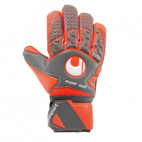 Uhlsport Herren Torwarthandschuhe Aerored Supersoft
