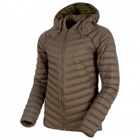 Mammut Herren Daunenjacke Alvra Light IN Hooded 1013-00150-4584 XL iguana | XL