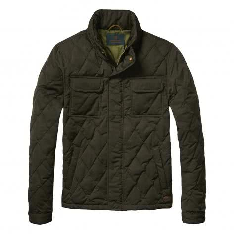 Scotch & Soda Herren Jacke Light Padded Quilted 101365-15 S Army | S