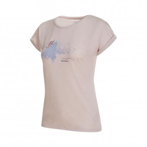 Mammut Damen Funktionsshirt Mountain T-Shirt 1017-00960-00256 XS bright white melange PRT1 | XS
