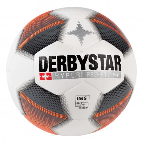 Derbystar Fussball Hyper Pro TT DB 1019500179 5 Weiß/Grau/Orange | 5