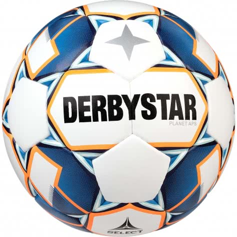 Derbystar Fussball Planet APS 1028500167 Weiss-Blau-Orange | 5