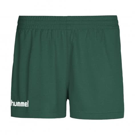 Hummel Damen Short Core Poly Shorts 11086-6140 L Evergreen | L