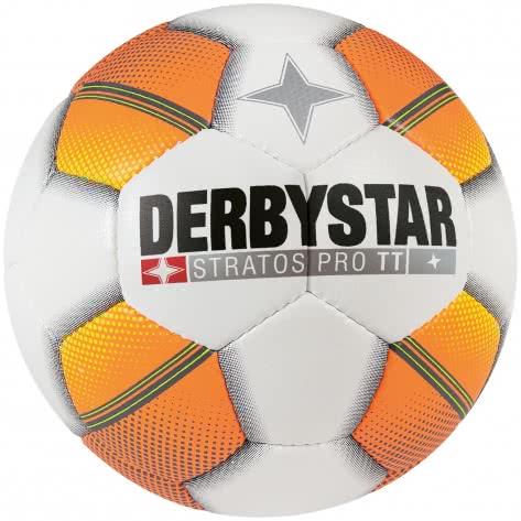 Derbystar Fussball Stratos Pro TT HS 1125500175 5 Weiß/Orange/Gelb | 5