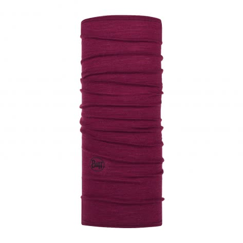 Buff Schlauchtuch Lightweight Merino Wool 113024-620 One size Solid Raspberry2   One size