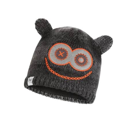 Buff Kinder Mütze Knitted Polar Monster Jolly Child 113452 Black Größe One Size