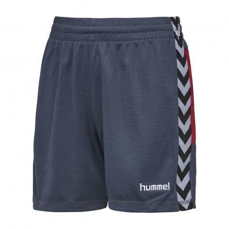 Hummel Herren Short Reflector Poly Short AC 11350 Blue Nights/Tibetan Red Größe: M,S,XL,XXL