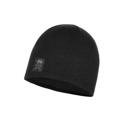 Buff Mütze Knitted & Polar Solid 113519-999 Black | One Size