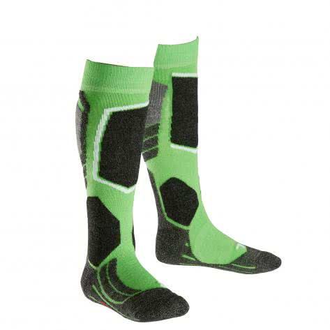 Falke Kinder Ski Socken SK2 Kids 11432 vivid green Größe 27 30,31 34