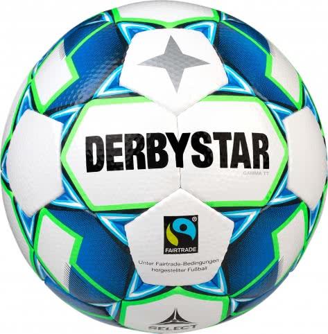 Derbystar Fussball Gamma TT 1153500164 Weiss-Blau-Gruen   5