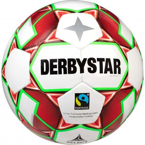 Derbystar Fussball Alpha TT 1155500134 Weiss- Rot-Gruen | 5