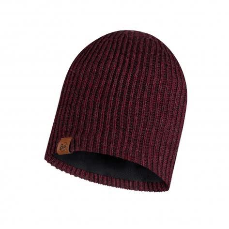 Buff Mütze Knitted & Polar Lyne 116032-632 Maroon | One Size