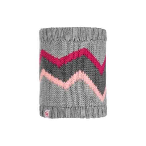Buff Kinder Nackenwärmer Knitted & Polar Arild 117878-937 Grey | One Size