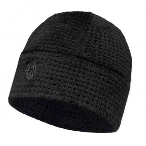 Buff Mütze Polar Thermal Hat 118120-901 Solid Graphite Black | One size