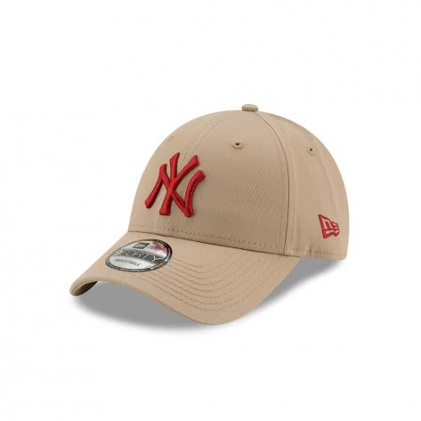 New Era Kappe Adjustable League Essential 9Forty 11871475 One Size New York Yankees - Light Beige   One Size