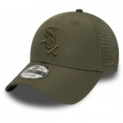 New Era Kappe Feather Perf 9Forty Adjustable 11871530 One size Chicago White Sox| One size