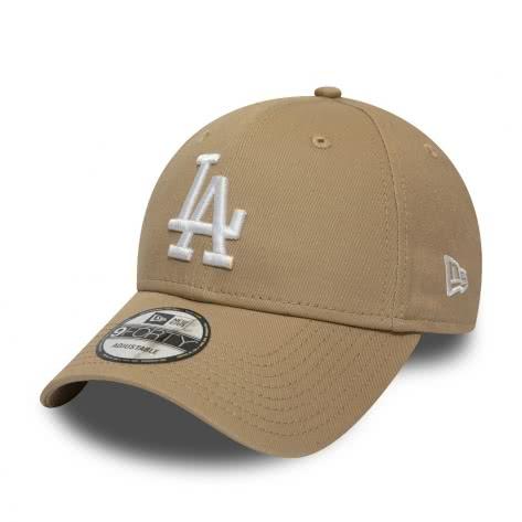 New Era Kappe Adjustable League Essentital 9Forty 11946171 One size Los Angeles Dodgers-Light Beige | One size