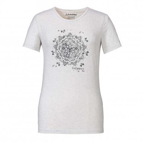 Schöffel Damen T-Shirt Zug2 12313-1180 38 Cloud Dancer | 38