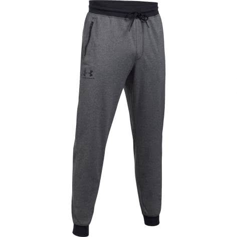 Under Armour Herren Jogginghose Sportstyle 1290261-090 XS CARBON HEATHER/BLACK | XS