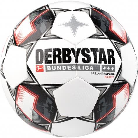 Derbystar Fussball Bundesliga Brillant Replica S-Light 18/19 1302300123 3 Weiß/Schwarz/Rot | 3