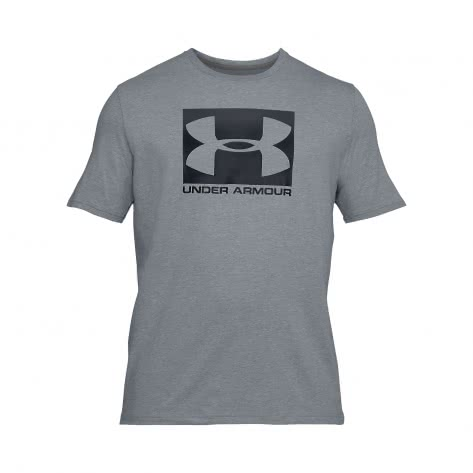 Under Armour Herren T-Shirt Boxed Sportstyle 1305660-035 L STEEL LIGHT HEATHER/GRAPHITEBLACK | L