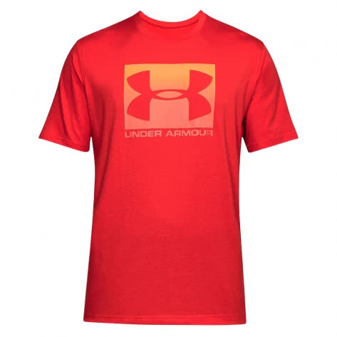 Under Armour Herren T-Shirt Boxed Sportstyle 1305660-600 M RED/WHITE/STEEL | M
