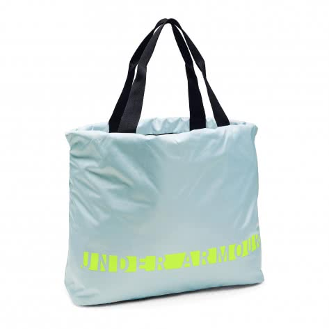 Under Armour Damen Tasche FAVORITE GRAPHIC TOTE 1308932-451 Coded Blue/Black/High-Vis Yellow | One size