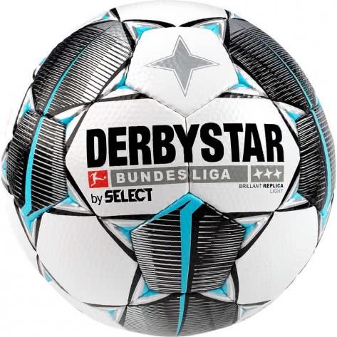 Derbystar Fussball Bundesliga Brillant Replica Light 2019/20 1310500019 Weiss-schwarz-petrol | 5