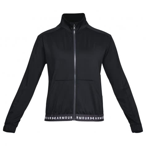 Under Armour Damen Trainingsjacke HG Full Zip 1320589-001 S Black/White | S