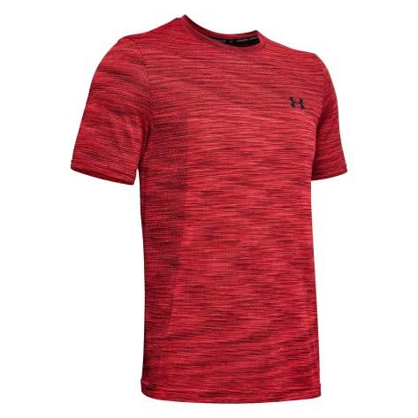 Under Armour Herren T-Shirt Vanish Seamless 1325622-646 S Martian Red/Black   S