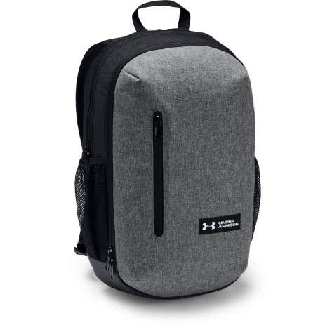 Under Armour Unisex Rucksack Roland Backpack 1327793-041 One size Graphite Medium Heather/Black/White | One size