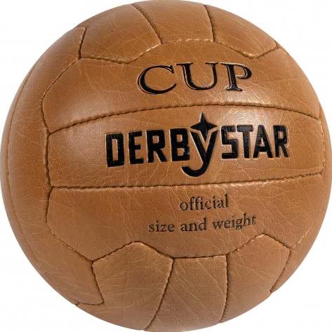 Derbystar Fussball Nostalgieball Cup 1335500900 Braun | 5