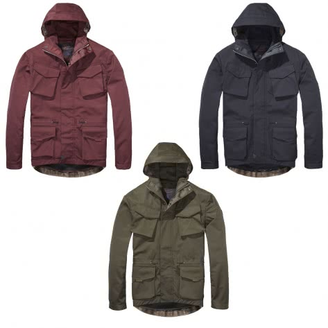 Scotch & Soda Herren Jacke Hooded jacket 139367