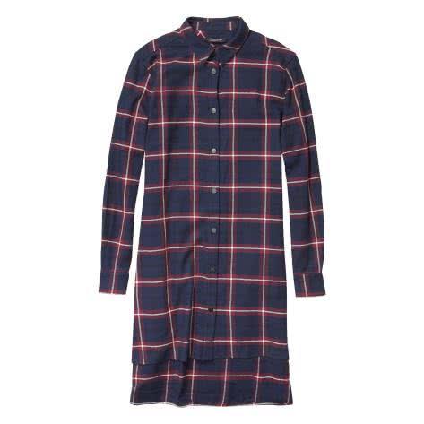 Maison Scotch Damen Kleid Soft Brushed Check Dress 140654-17 XS Combo A | XS